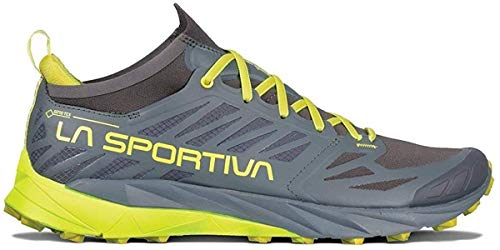 La Sportiva Kaptiva GTX – Trail Running Shoes – Carbon Citrus Gris Size: 44.5 EU