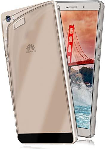 Ultra-Clear Case [Vollständig Transparent] passend für Huawei P8 Max | rutschfest und extrem dünn - Fast unsichtbar, Klar
