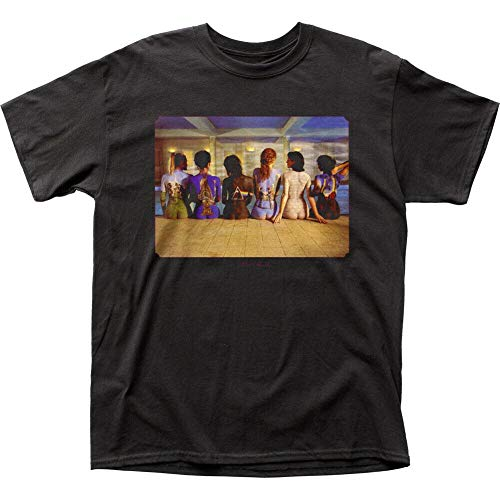 Pink Floyd Back Catalogue T Shirt Mens Licensed Rock N Roll Retro Band tee Black,Black,2XL
