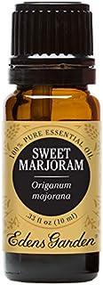 Edens Garden Sweet Marjoram Essential Oil, 100% Pure Therapeutic Grade (Allergies & Sedative) 10 ml