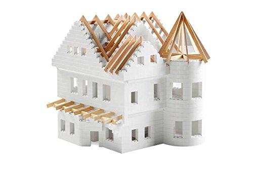 metakreon Bausteine für Fachwerkhaus, Modellbausteine Architekten Bauwerke Anbau Gartenbahn LGB