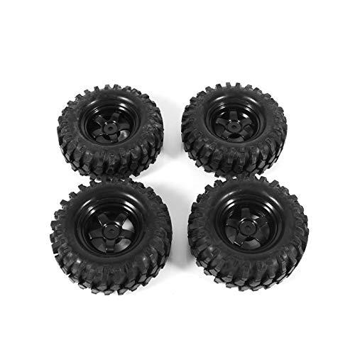 Accesorio de Coche RC Neumáticos de Coche RC 1:10 RC Crawler RC Coche Neumáticos de Goma Resistencia para Coche RC