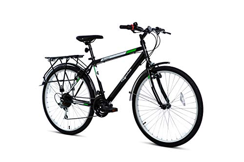 BJORD Bicicleta Avenue 26', Adultos Unisex, Negro, Normal