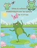 Livre de coloriage GRENOUILLE pour les enfants de 4 à 8 ans: A Funny Frogs Coloring Book (Dover Nature Coloring Book) (livres de coloriage animaux idesignex)