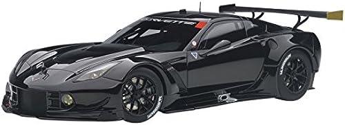 AUTOart 81651 evrolet Corvette C7R GTE Plain Body 2016 Echelle 1 18, Schwarz