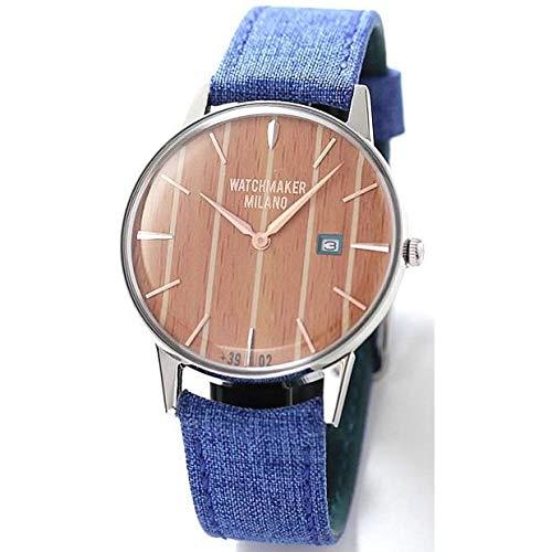 Watchmaker Milano Orologio Uomo Vintage da Polso a Quarzo con Cassa Tonda e...