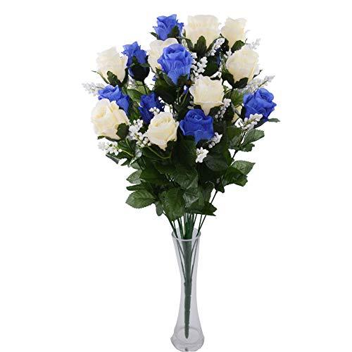 Flores Artificiales Cementerio Baratas flores artificiales  Marca Rabbihom