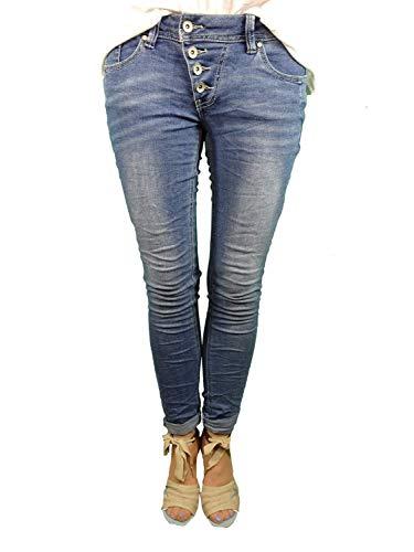 Buena Vista Damen Stretch Jeans Malibu weitere Farben (XS-34, mid Stone)