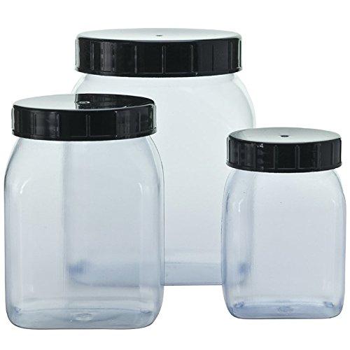 CREATIV DISCOUNT NEU PVC-Klarsichtdose leer für 500 ml Inhalt