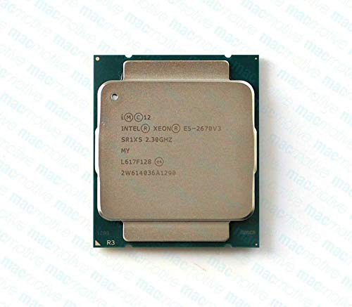 MAO YEYE Intel E5-2670 V3 SR1XS 2.3Ghz 12 Core 30MB Socket LGA 2011-3 Xeon CPU E5 2670 V3 (reacondicionado)