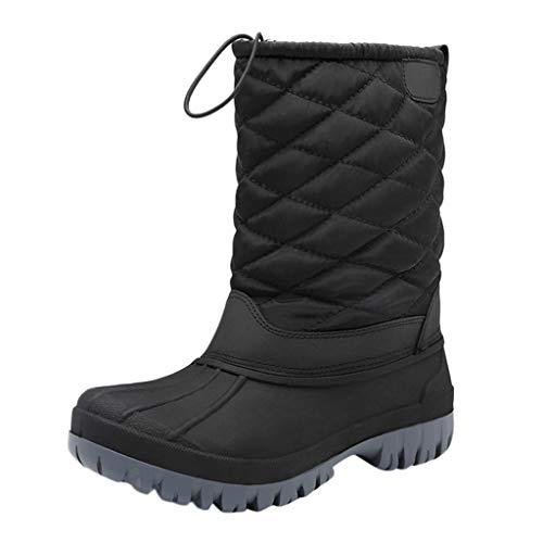 clacce Damen Schneestiefel Stiefel & Stiefeletten Wasserdicht Sneaker Winterstiefel Winterschuhe Plus rutschfeste Warme Schützende Freizeitschuhe Schneeschuhe