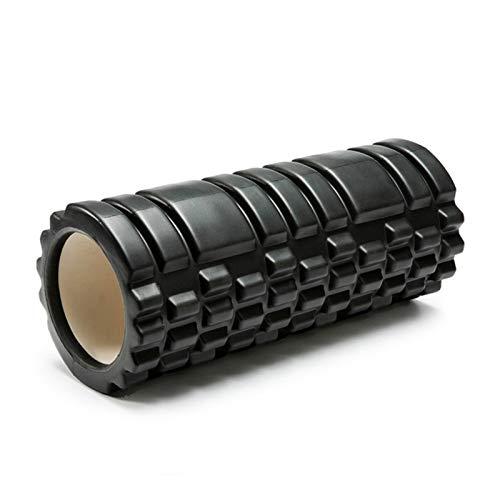 WEARRR 45 / 35cm Yoga-Säulen-Gym Fitness-Schaumstoff-Roller-Pilates Yoga-Muskel-Massage-Rollen-Training zurück weichen Yoga-Block (Color : Blue)