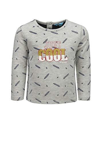 """Lief! Sweatshirt Jungen Grey Feather Print,68"""",""""Grau Baby, Kinder"""
