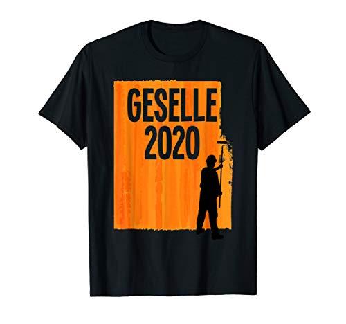 Geselle 2020 Gesellenprüfung bestanden Maler Lackierer T-Shirt