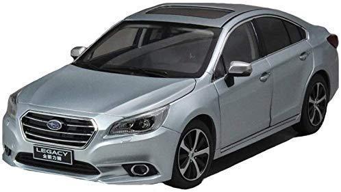 Ermächtigt Automodell 01.18 Subaru Legacy-Legierung Auto-Modell-Sammlung Geschenk Dekoration Jungen- / Mädchengeschenk (Farbe: Silber, Größe: 25 11 8 cm) (Farbe: Silber, Größe: 25 11 8 cm) .Erforschen