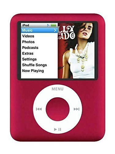 MPlayer iPod Nano 3rd Generation 8GB RED Renewed