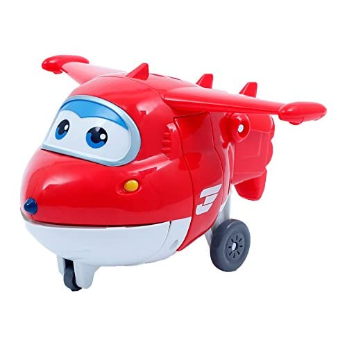 Toyland Super Wings Superwings Jet Trasformabile DX, Upw63000, Colore Rosso
