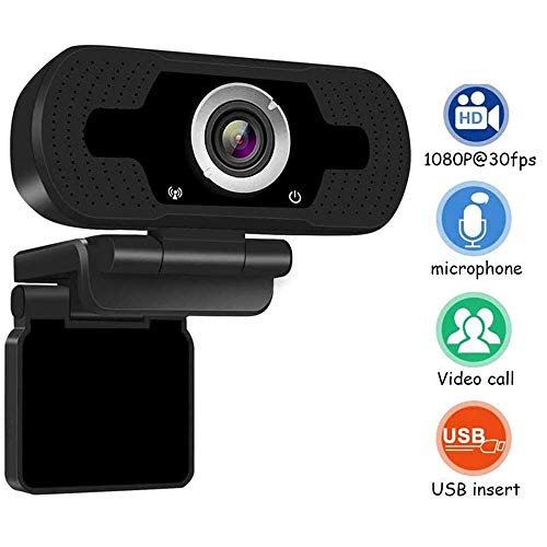 AGKupel Webcam HD 1080P Webcam USB Webcam PC Desktop Laptop Webcams Computer Camera Videobellen Opname Plug And Play USB Camera Ingebouwde Microfoon Voor Live Streaming Skype Live Class Conferentie