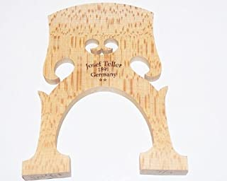Joseph Teller 1891 Germany 1/2 Cello Bridge Belgian Model 77mm Foot Measure, Select Bosnian Maple VWWS