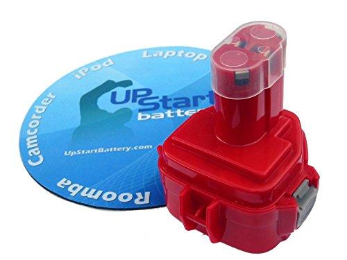 Makita 12V Battery Replacement (1300mAh, NICD) - Compatible with Makita 6213D, 1222, 6213D, 8413D, 6980FDWDE, 6980FD, 6918FDWDE, 6217D, 6217DWDE, 6918D, 6223D, 6223DWE, 6227D, 6916D, 6914D, 6227DWE, 6270DWAE, 6270DWALE, 6270DWPE, 6835D, 6271D