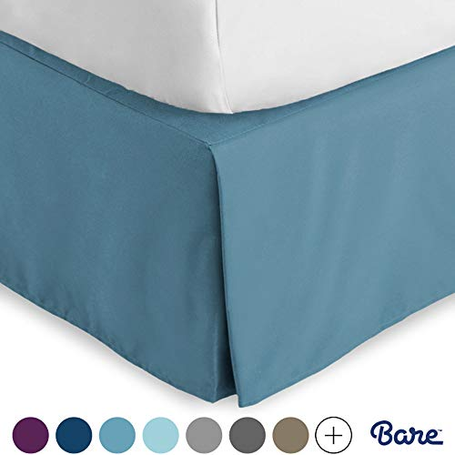 Bare Home Bed Skirt Double Brush...