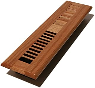 Decor Grates WL214-N Floor Register, 2-Inch by 14-Inch, Natural Oak