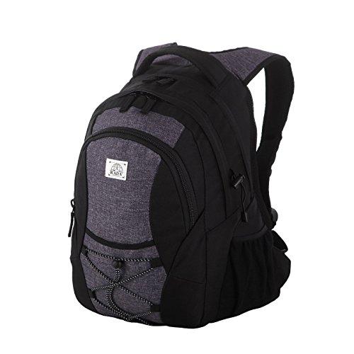 Rada Rucksack RS/3 | Freizeitrucksack mit 39 Liter Volumen | passend für DIN A4 | Schulrucksack für Mädchen und Jungen | wasserabweisender Daypack | Damen und Herren