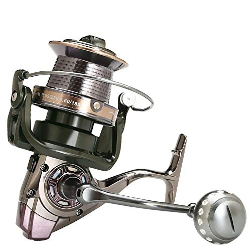 Reel giratorio Sea Fishing carpa carrete que hace girar la pesca Full...