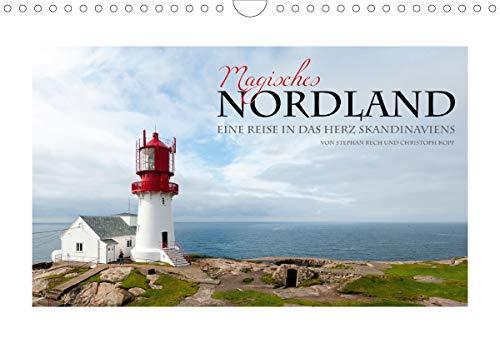 Magisches Nordland. Eine Reise in das Herz Skandinaviens (Wandkalender 2021 DIN A4 quer)