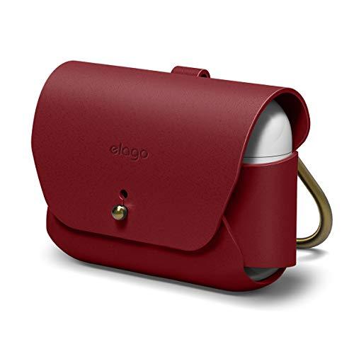 elago airpods pro case leather