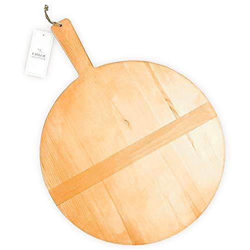 Tabla pan madera pino redonda grande Chloe and Cotton