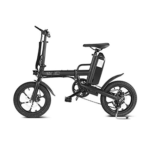 SHIJING Elektrische fiets, 36 V, 13 Ah, 250 W, 65 km, overdracht, REIT drie modi 25 km/h, 16 inch bandenwiel
