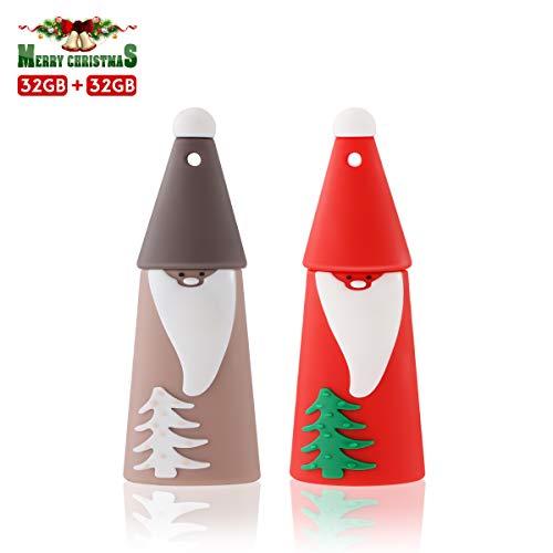 USB Stick 32GB, MECO Speicherstick Memory Stick USB Flash Drive Mit Geschenk-Box Weihnachten/Geburtstag/Kindertag Geschenk für Familie Freund Kind