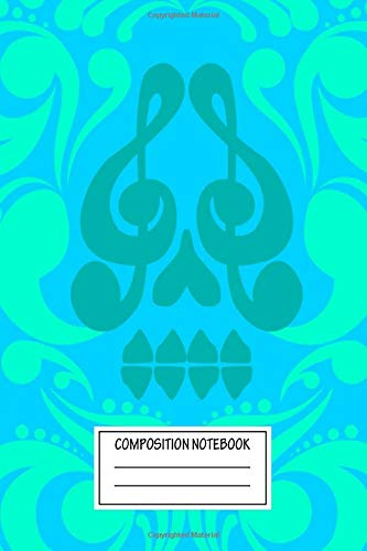 Composition Notebook: Music Día De Muertos Posters Wide Ruled Note Book, Diary, Planner, Journal for Writing
