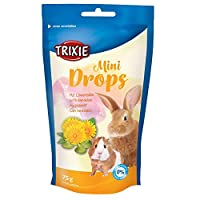 Delicious snack for small animal No added sugar in pets drops Pure nature quality Made with high-quality ingredients Good treat in between meals