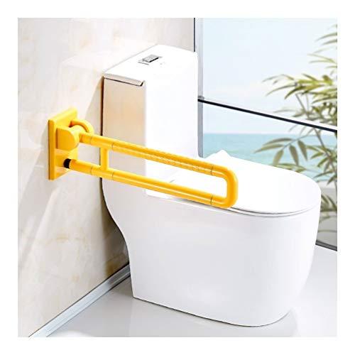 JIAHE115 veiligheidsleuning voor badkamer, vouwbaar, anti-slip wc-handgreep, frame met gehinderde oude kluis, barrièrevrije muur voor kerest, wc-hulp boost Luminou