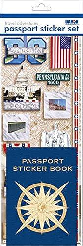 estilo clásico Pasaporte Pasaporte Pasaporte wallkraft perfectdarts PP59118 pasaporte o Scrapbooking pegatinas-Washington Dc 1  Ahorre 35% - 70% de descuento