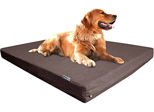 Dogbed4less Premium XL Orthopedic Memory Foam Dog...