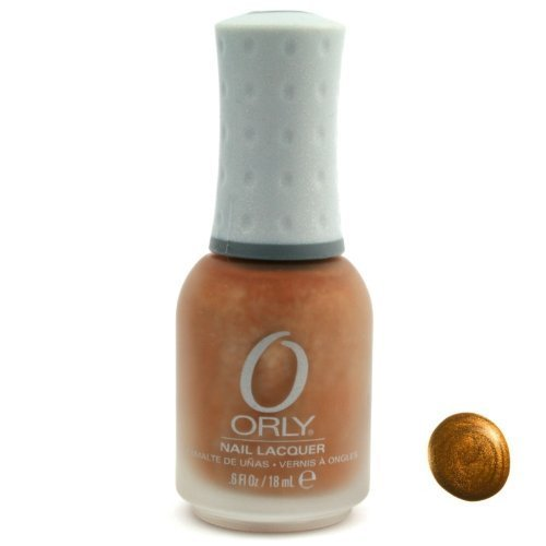 Orly Nail Lacquer, Solid Gold, 0.6 Fluid Ounce by Orly