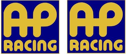 2x AP Racing pegatinas–Discos de Freno para pinzas tubos adaptadores 100mm