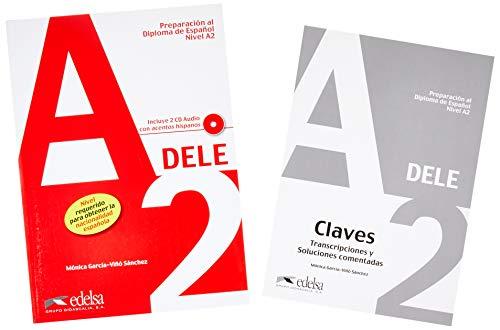 Pack DELE A2 (libro del alumno + claves): Pack: Libro + CD (2) + Claves - A2 (Preparación Al Dele - Jóvenes Y Adultos - Preparación Al Dele - Nivel A2)