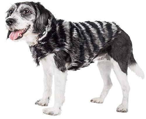 PetLife Luxe Chauffurry - Abrigo para Perro (Piel de visón, tamaño Grande),...
