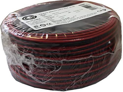 Gescable PCB207 luidsprekerkabel, 25 m, rood/zwart
