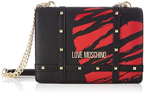 Love Moschino Precollezione SS21   Borsa a Spalla da Donna, Nero, Normal