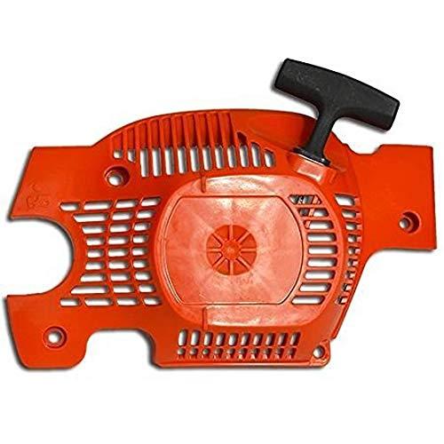 Hippotech Starter Seilzugstarter, Rücklaufzug, Seilzugstarter, Montage passend für Husqvarna 136 137 141 142, ersetzt 530071968