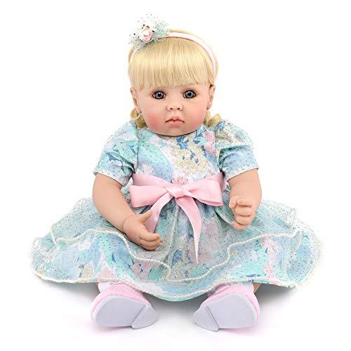 KDMB Reborn Baby Dolls Handmade Lifelike Realistic Silicone Vinyl Soft Simulation 20 inch 50 Cm Eyes...