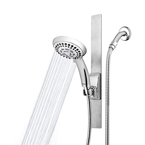 Waterpik Adjustable Height Magnetic Slide Bar Shower Head