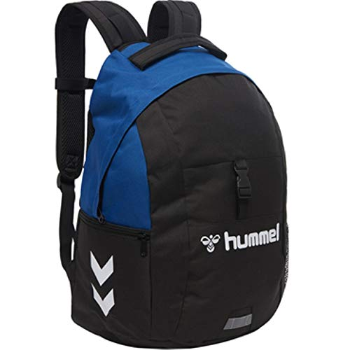 Hummel CORE Ball Back Pack Rucksack, True Blue/Black, Einheitsgröße