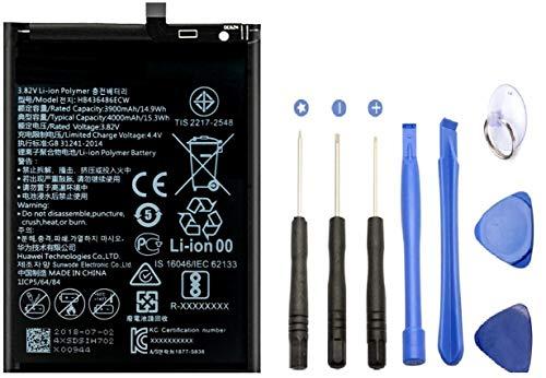 Batería Asesino Compatible con Huawei Mate 10/Mate 10 Pro/P20 Pro (3400mAh) con Herramientas para Cambio de batería HB436486ECW [12 Meses de Garantía]