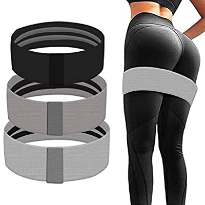 EZTECHO Booty Bands, Set of 3 Resistance Bands ...